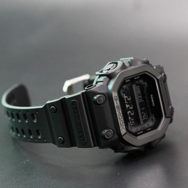 1 56BB GX 大方块 G 光能表男表方形手表男限量纯黑巨 SHOCK G 卡西欧