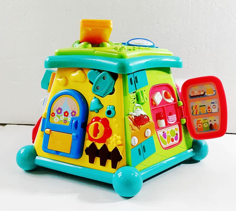 澳贝生活体验馆宝宝探索生活馆益智早教生活馆玩具多功能玩具屋