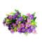 单支干花绢花仿真花束客厅塑料假花装饰摆件插花栅栏花手捧花雏菊
