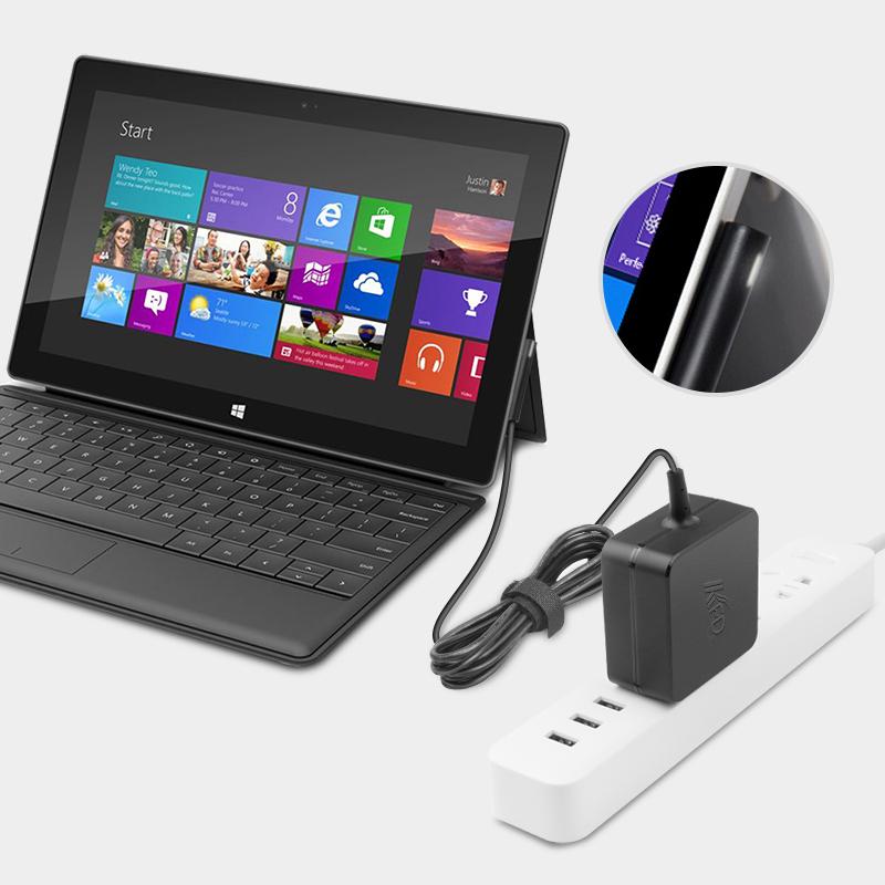 微软平板电脑surface pro3 pro4充电器线12V2.58A电源适配器便携