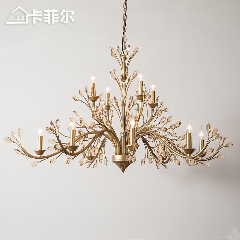 灯枝形法式轻奢水晶灯