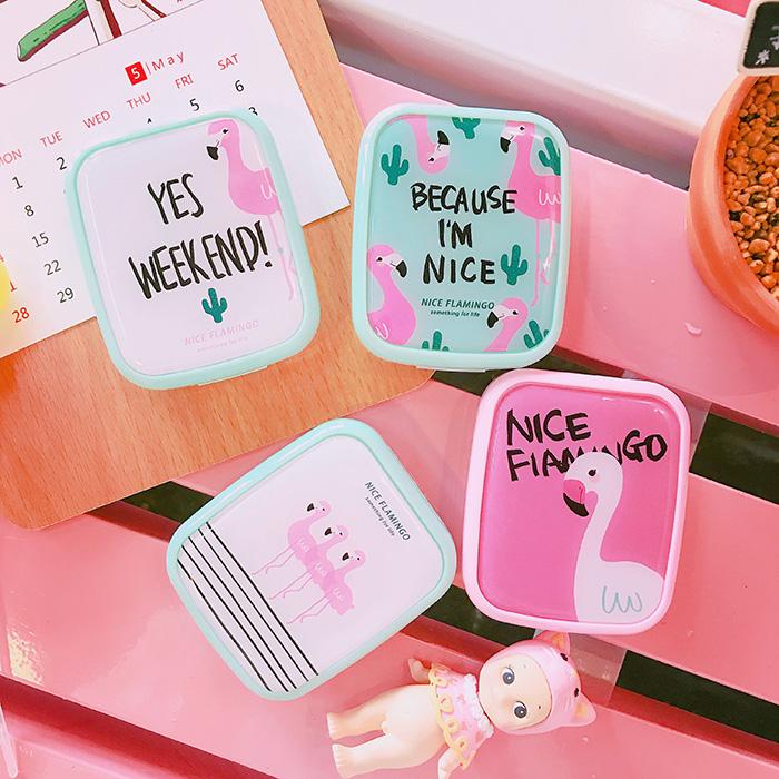 韩版创意时尚可爱卡通小清新软萌水果创意 隐形眼镜盒 美瞳护理盒