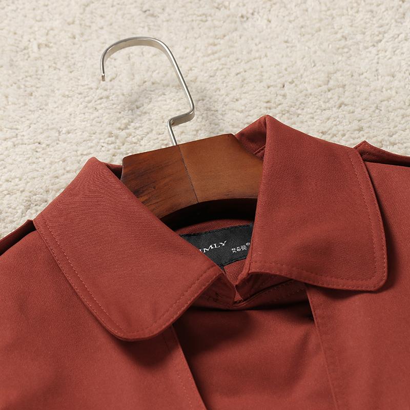 梵希蔓短款休闲风衣女秋季新款韩版百搭修身小外套 元新品 179