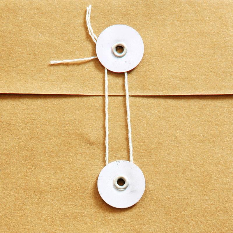 得力5953加厚A4牛皮纸档案袋纸质办公投标文件袋资料袋50个装包邮