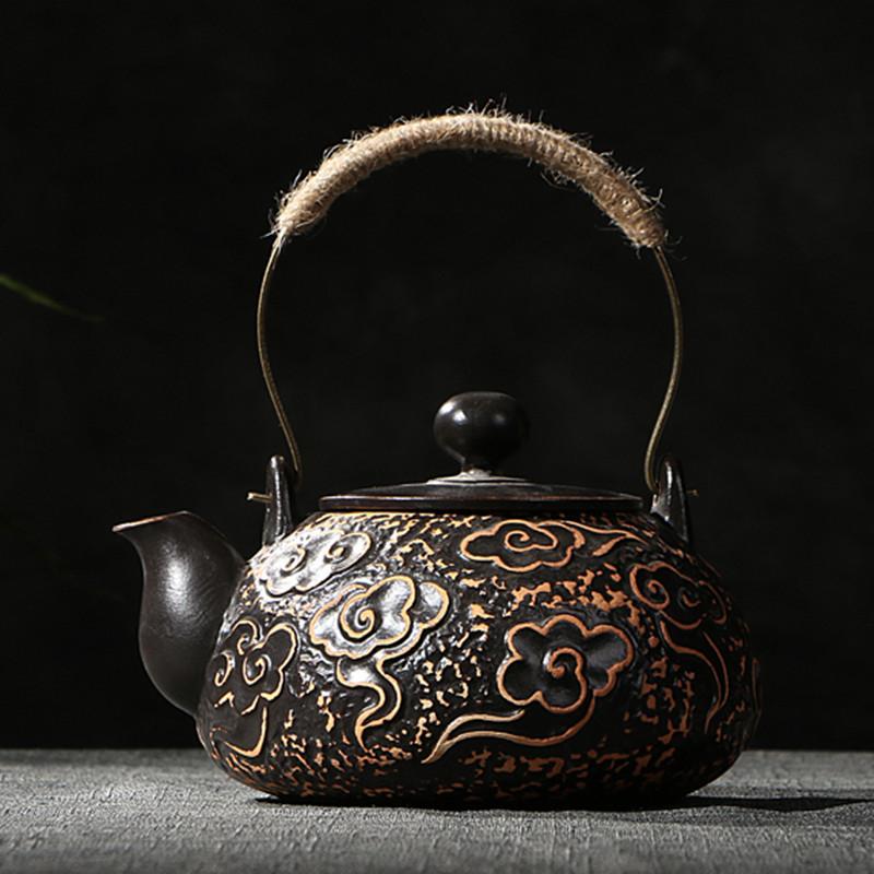 茶炉电磁炉电陶炉陶壶陶瓷老岩泥煮茶家用特价水壶泡茶茶具茶道