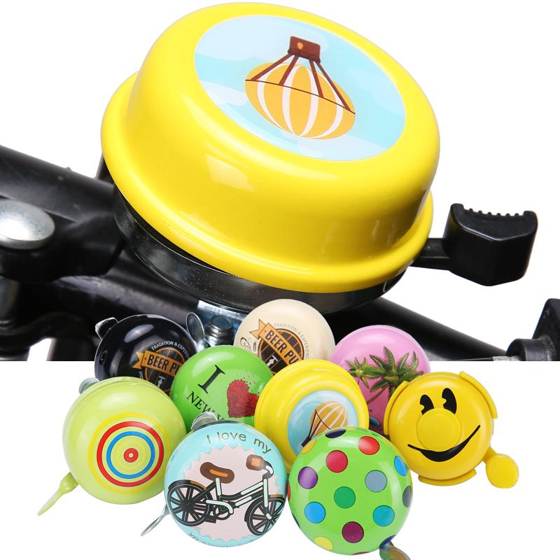 可愛卡通自行車大鈴鐺山地車配件兒童車單車鈴裝備高分貝響亮包郵