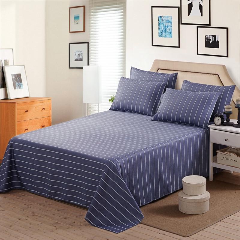 夏季薄床单单件棉布纯棉1.8m双人大床2.0m床粉色全棉250x270清仓