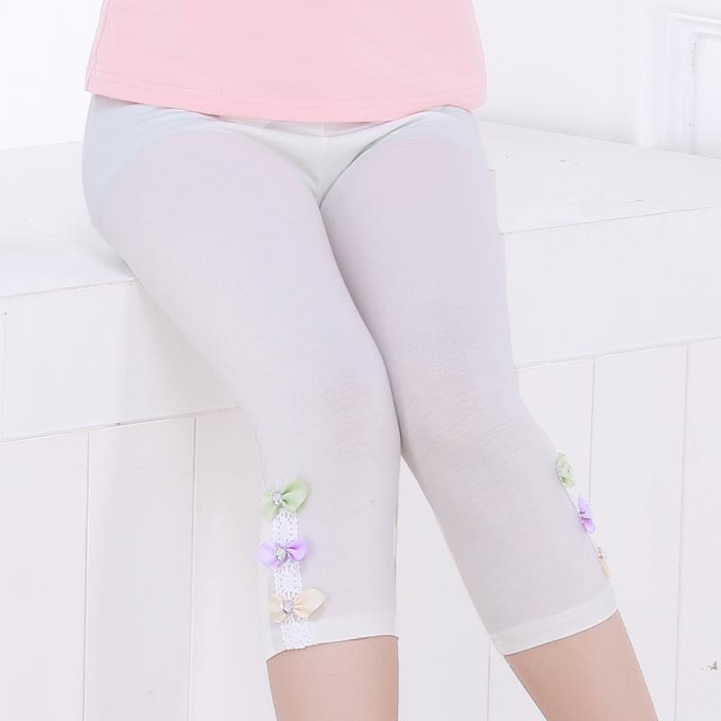 女童打底裤夏季女孩童装短裤宝宝裤子安全裤夏季薄款儿童三分裤女