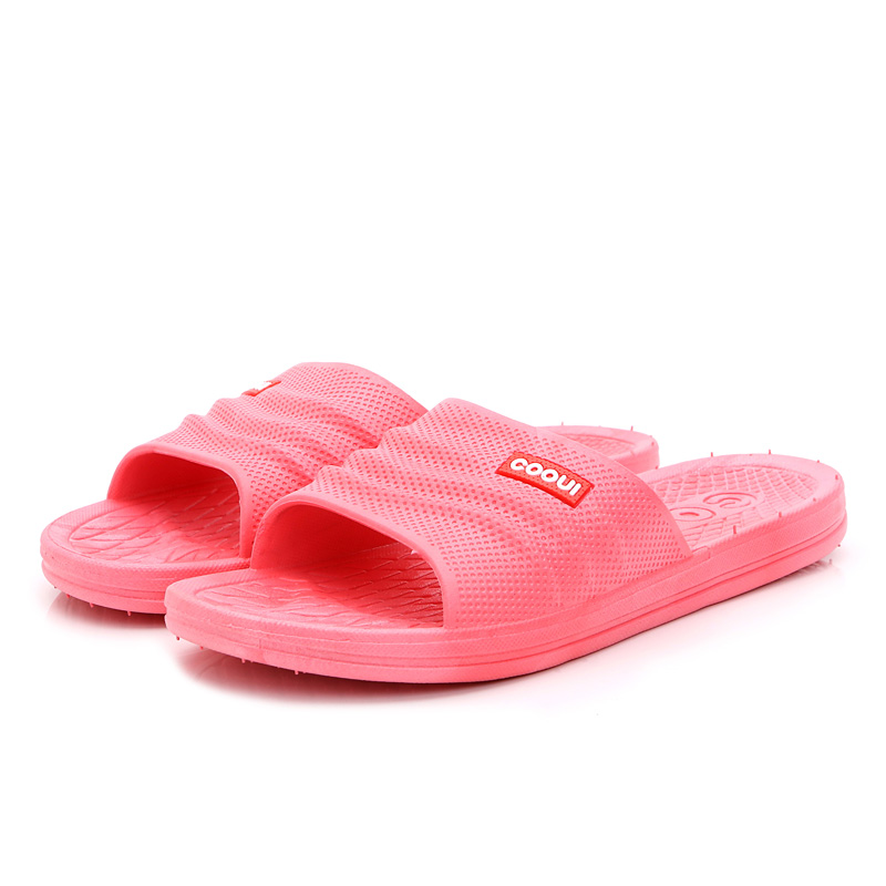 男女士夏季凉拖鞋批发酒店宾馆家用室内厚底防滑软底塑料居家托鞋