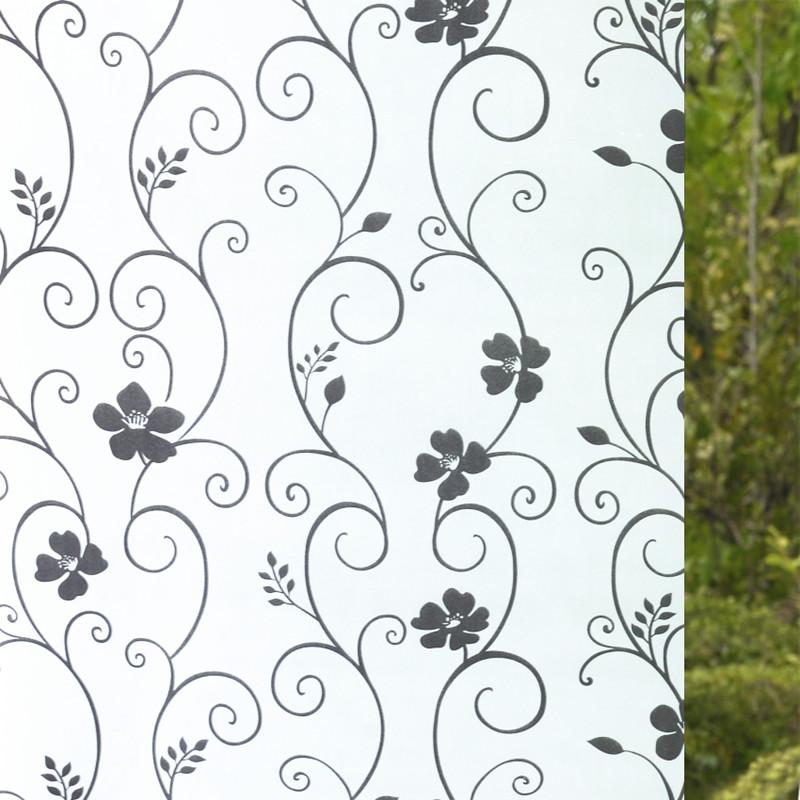 窗花纸窗贴磨砂贴纸卫生间透光不透明浴室玻璃纸遮光窗户自粘贴膜