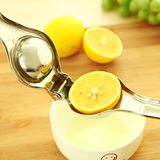 Stainless steel lemon juicer home kumquat fruit juice machine manual orange juice thickened shipping