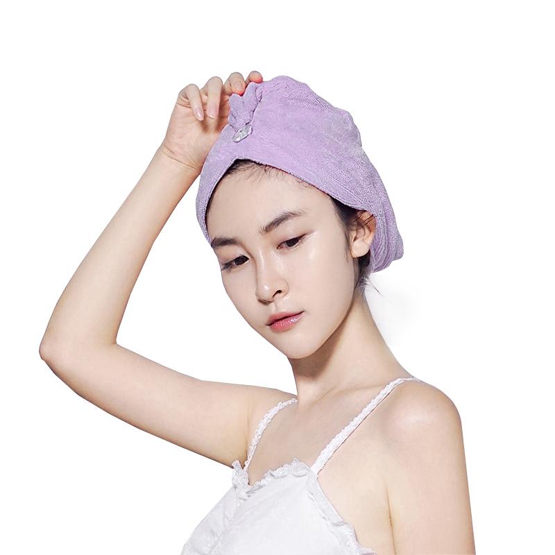 grace/洁丽雅强吸水成人干发帽干发巾加厚柔软浴帽擦头发包头巾