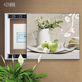 Meter box distribution box decorative painting can push the shutter main switch gate Nordic living mural box Free puncturing light luxury
