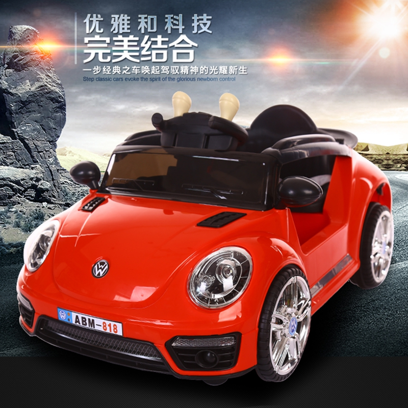 儿童电动车带摇摆室内童车四轮遥控汽车男女宝宝可坐双驱动玩具车