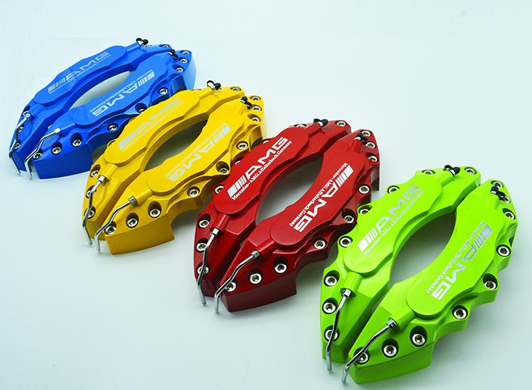 奔驰E系列e200 e260 e300 e320刹车卡钳罩改装AMG鲍鱼卡钳装饰罩