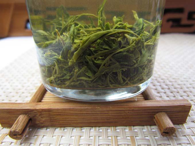 克青岛 250 年新茶头采明前春茶崂山绿茶豆香浓郁 2018 农民自种