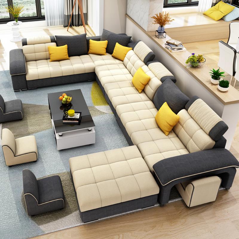 现代大小户型客厅套装