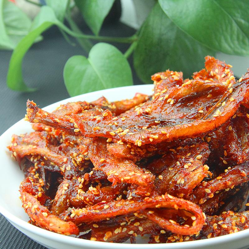 甜辣龙头鱼干500g蜜汁麻辣味鱼干鱼片