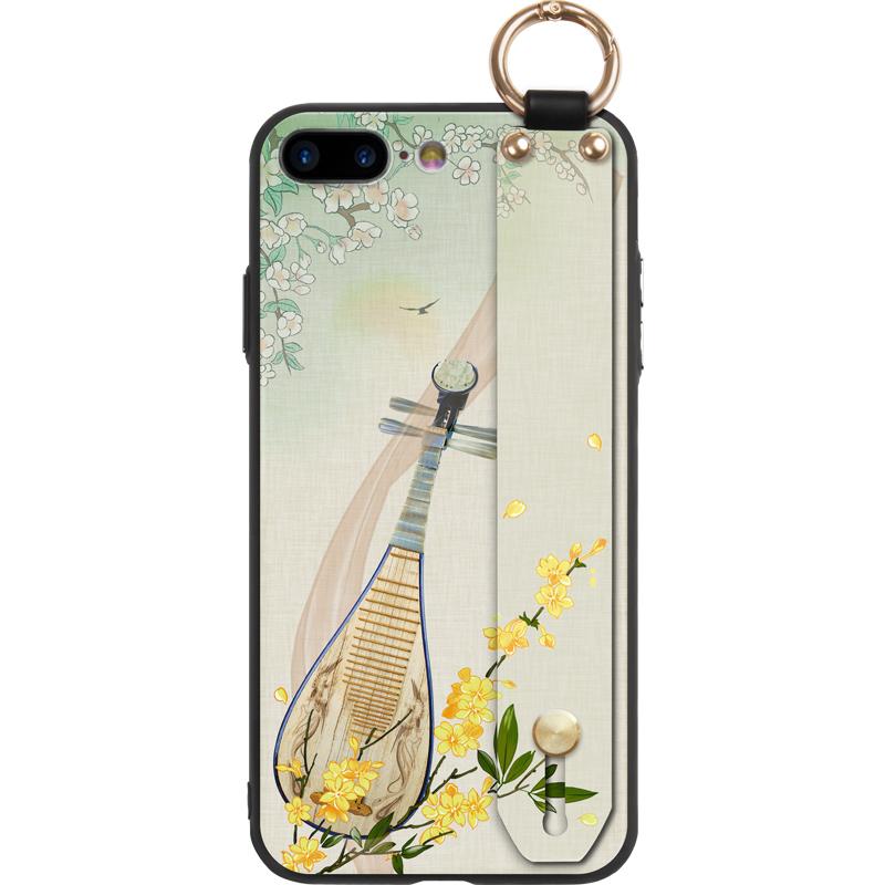 iPhone8plus手机壳女苹果8中国风7plus个性7支架挂绳iPhone6s硅胶琵琶6p全包6防摔6splus超薄套七八古风硬壳