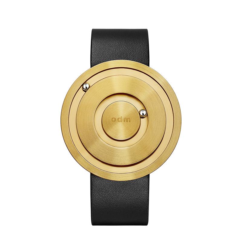 odm磁力创意无指针概念手表女 陶瓷炫酷个性手表男时尚潮流情侣表