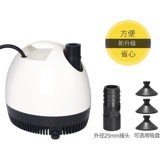 闽江小型鱼缸换水泵底吸潜水泵过滤器超静音迷你抽水泵鱼池循环泵