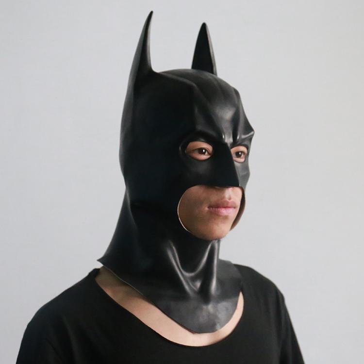 漫之秀 正义联盟 蝙蝠侠面具 头套 头盔可佩戴cosplay道具