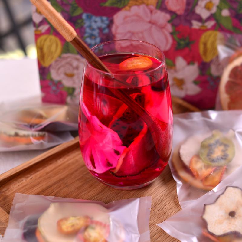 日茶纯手工袋装水果茶果粒花茶果片干果味茶包鲜切养颜组合茶花 10
