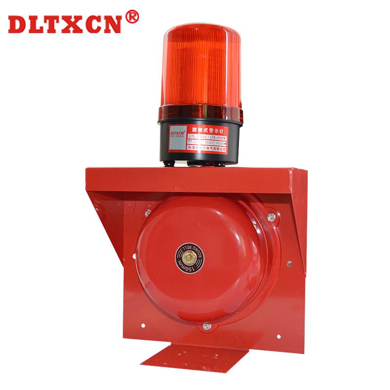 DL-816S电铃警报 上下课警铃220V声光报警器一体工厂喇叭声音大