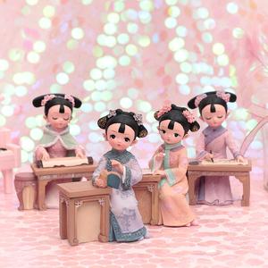 古风宫廷格格系列创意手办桌面装饰摆件少女心送闺蜜同学生日礼物