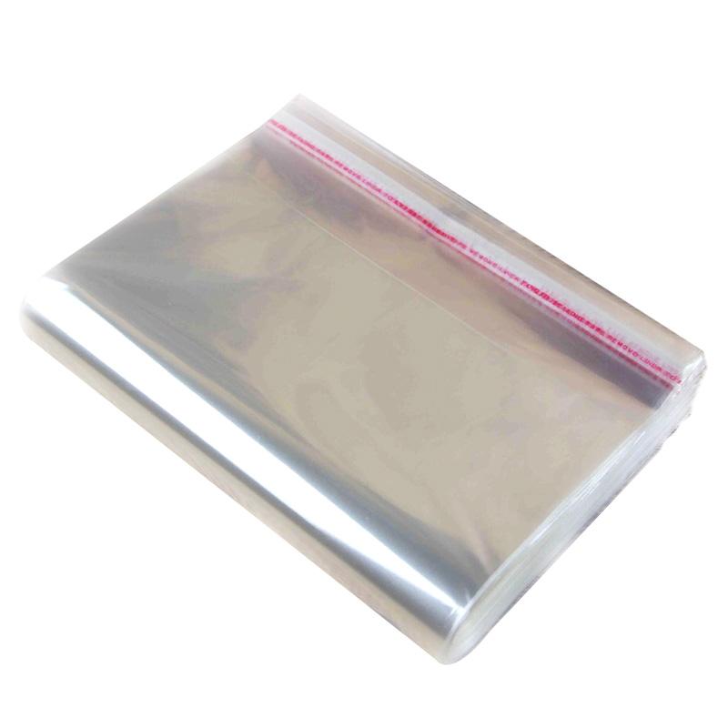 OPP不干胶自粘袋opp袋子透明包装袋服装包装袋自封袋塑料袋40*60