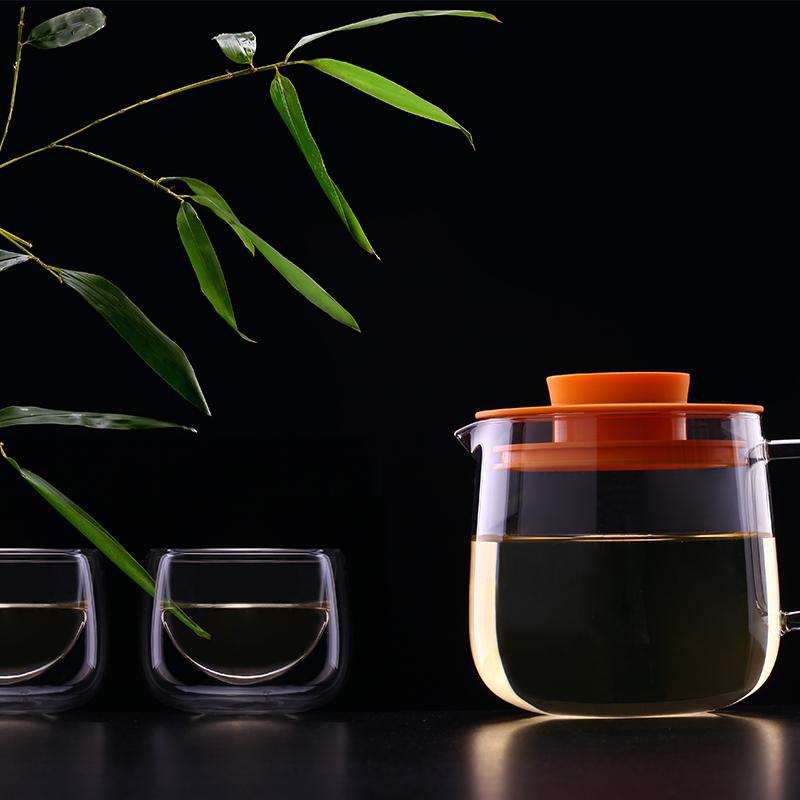 台湾artiart耐热玻璃36901花茶壶