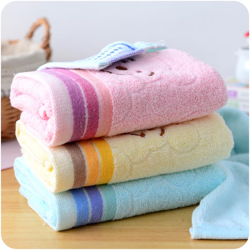 毛巾純棉洗臉巾強效吸水柔軟擦臉巾笑臉面巾居家婚慶成人全棉毛巾