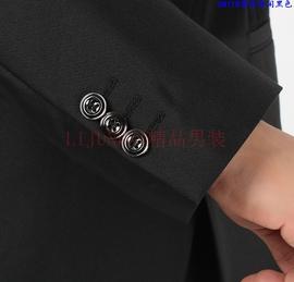 西服套装男士套商务休闲正装职业西装修身伴郎新郎结婚礼服秋冬季