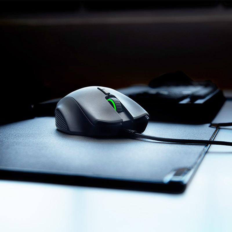 Razer雷蛇那伽梵蛇进化版Naga有线电竞游戏鼠标RGB宏机械侧键