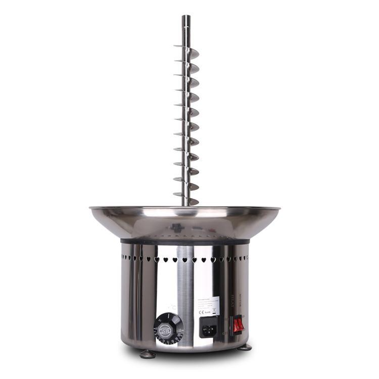 商用巧克力喷泉机不锈钢瀑布机七层火锅原料融化机喷淋塔包邮