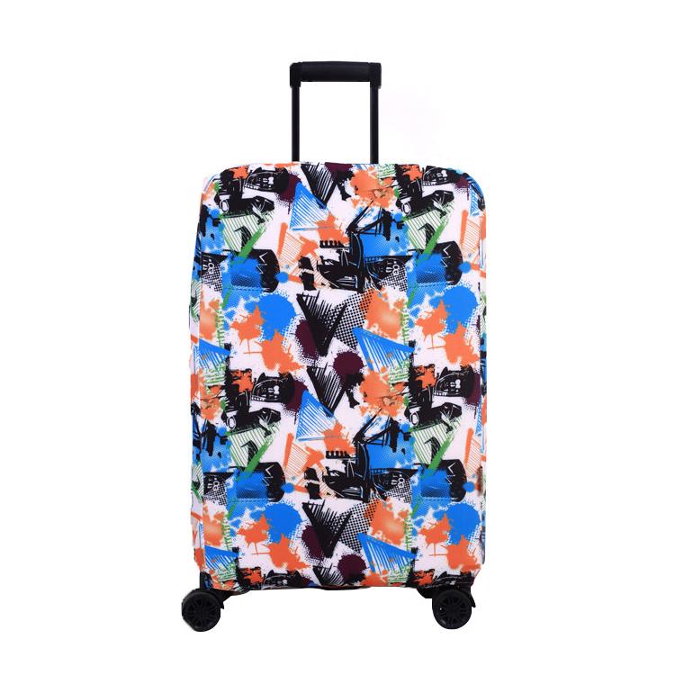加厚弹力行李箱保护拉杆箱套旅行箱套防尘罩防刮耐磨皮箱套箱子袋