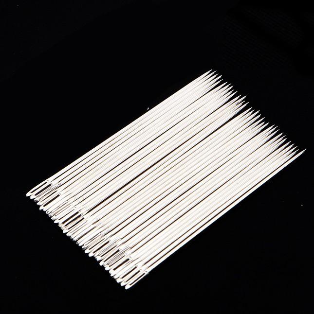 包邮长孔手缝针穿金属手工针大眼手缝针缝衣服针一包缝纫配件针