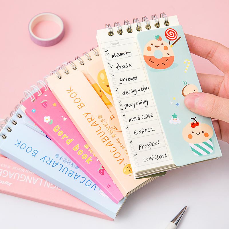 三年二班 英语单词本可爱便携笔记本学生随身记事口袋记忆小本子