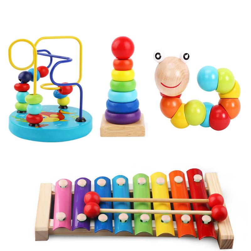 婴幼儿童八音手敲琴打击乐器8个月宝宝益智玩具早教10一2周岁木琴