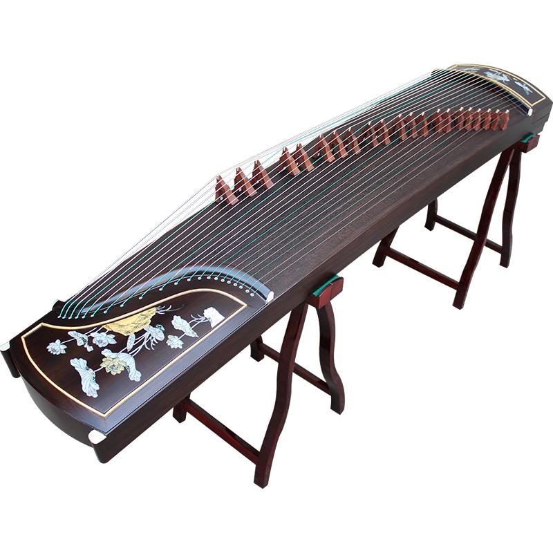 级考级黑檀琴码扬州古筝 10 专业演奏 古筝出水芙蓉 仙声乐器