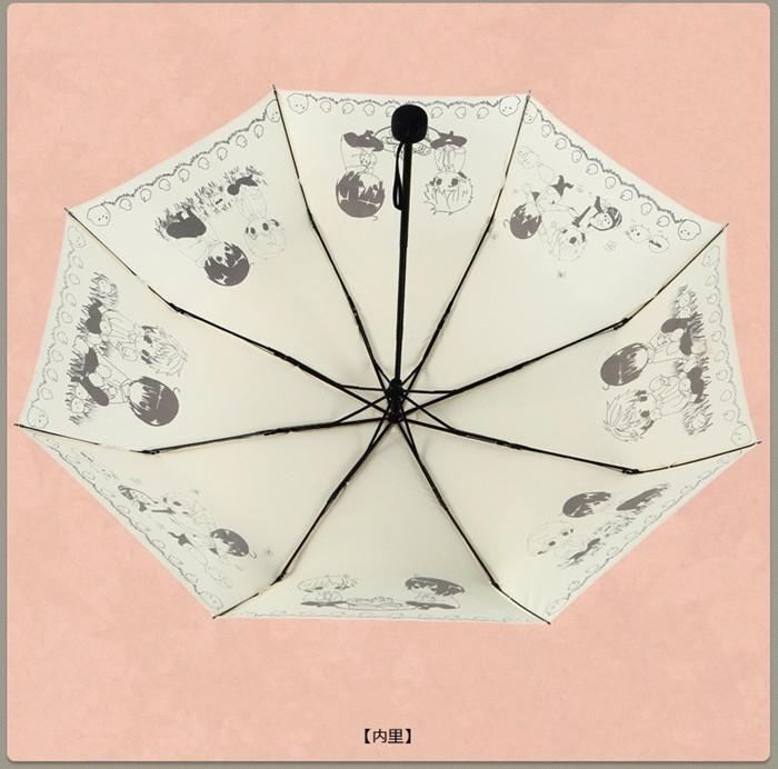 盗墓笔记银魂伞瓶邪晴雨伞遮阳夏目友人帐龙猫初音动漫折叠太阳伞
