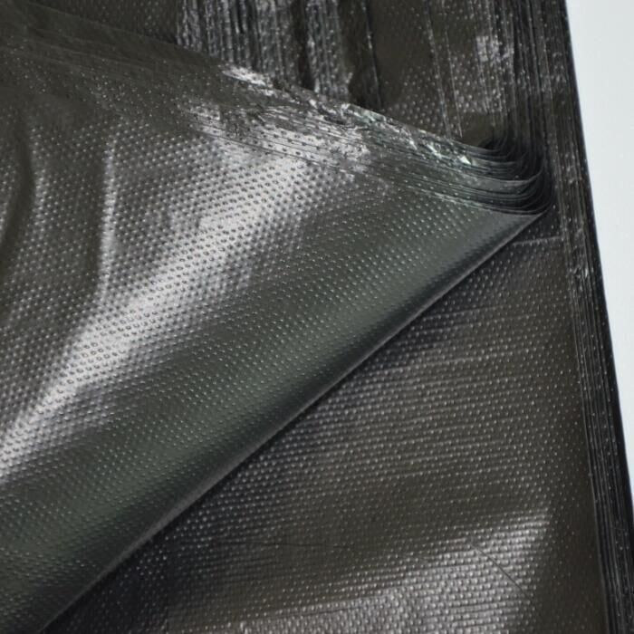 天天特价 超结实背心式大中黑色厨房垃圾袋家用塑料袋加厚共100只