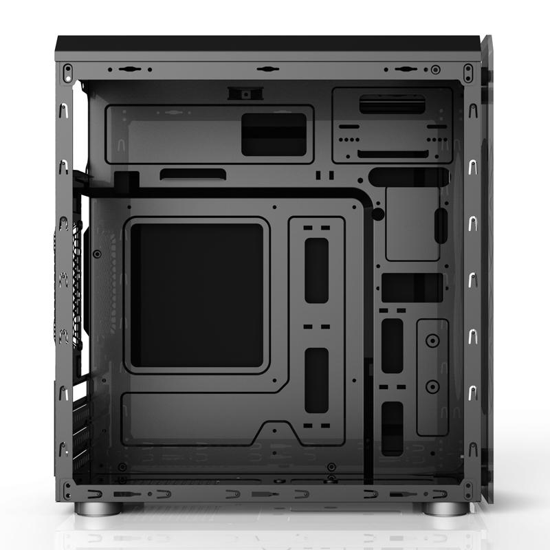玩嘉星光 电脑机箱 迷你mini matx大侧透水冷游戏台式机小机箱