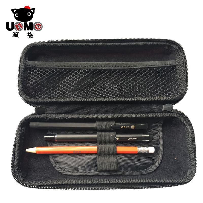 新款台湾unme笔袋文具盒 男女生简约文具袋 创意学生大容量铅笔盒