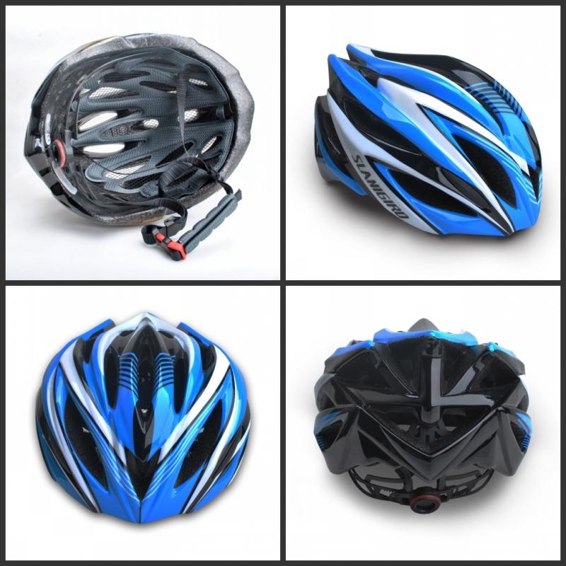 头盔护具成人一体成型加大可调自行车轮滑扳旱溜冰鞋护膝套装男女