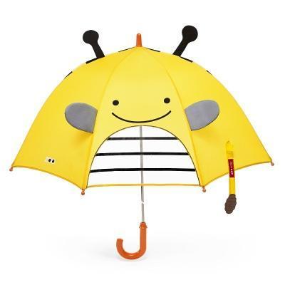 美国skip*hop儿童长柄雨伞小学生动物园伞3D立体耳朵卡通遮阳可爱
