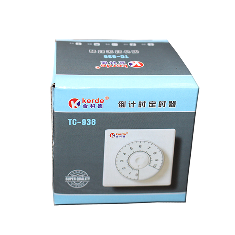 科德定时器 定时插座 机械定时开关 电动车充电 倒计时关 938包邮