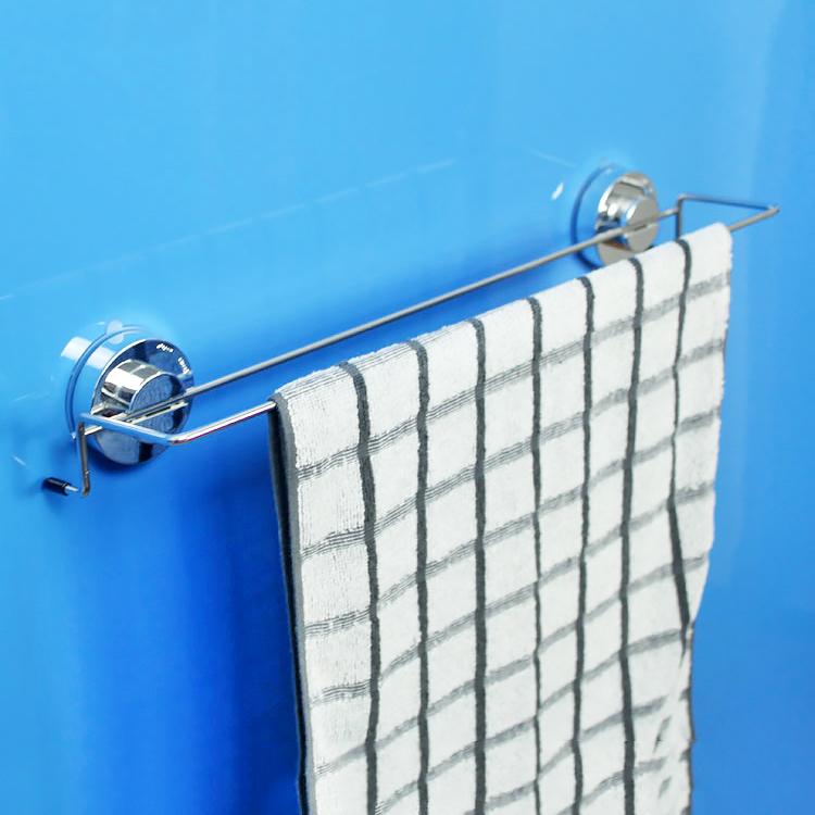 韓國deHub吸盤毛巾架 浴巾掛杆 衛生間毛巾掛架 毛巾杆 防水無痕