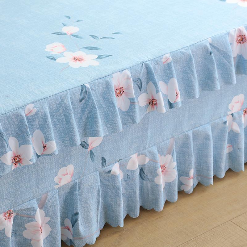 九鹿堡床裙席梦思韩式床罩 床套 床盖床单单件床笠1.8/1.5/1.2米