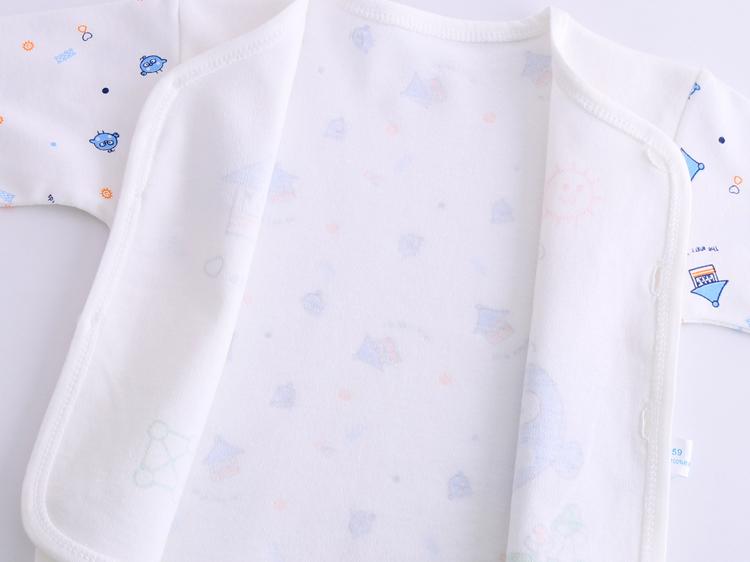 婴儿纯棉衣服新生儿7件套装0-3个月6春秋夏季初生刚出生宝宝用品